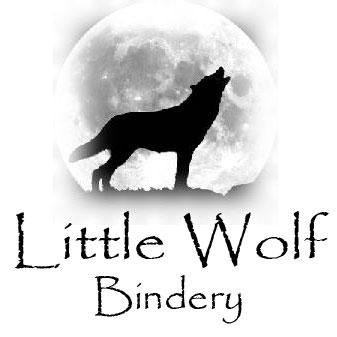 Little Wolf Bindery Logo