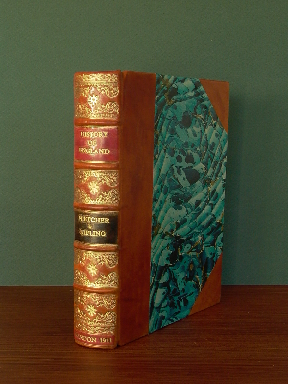 A Rare 1911 Large Print Edition of A History of England